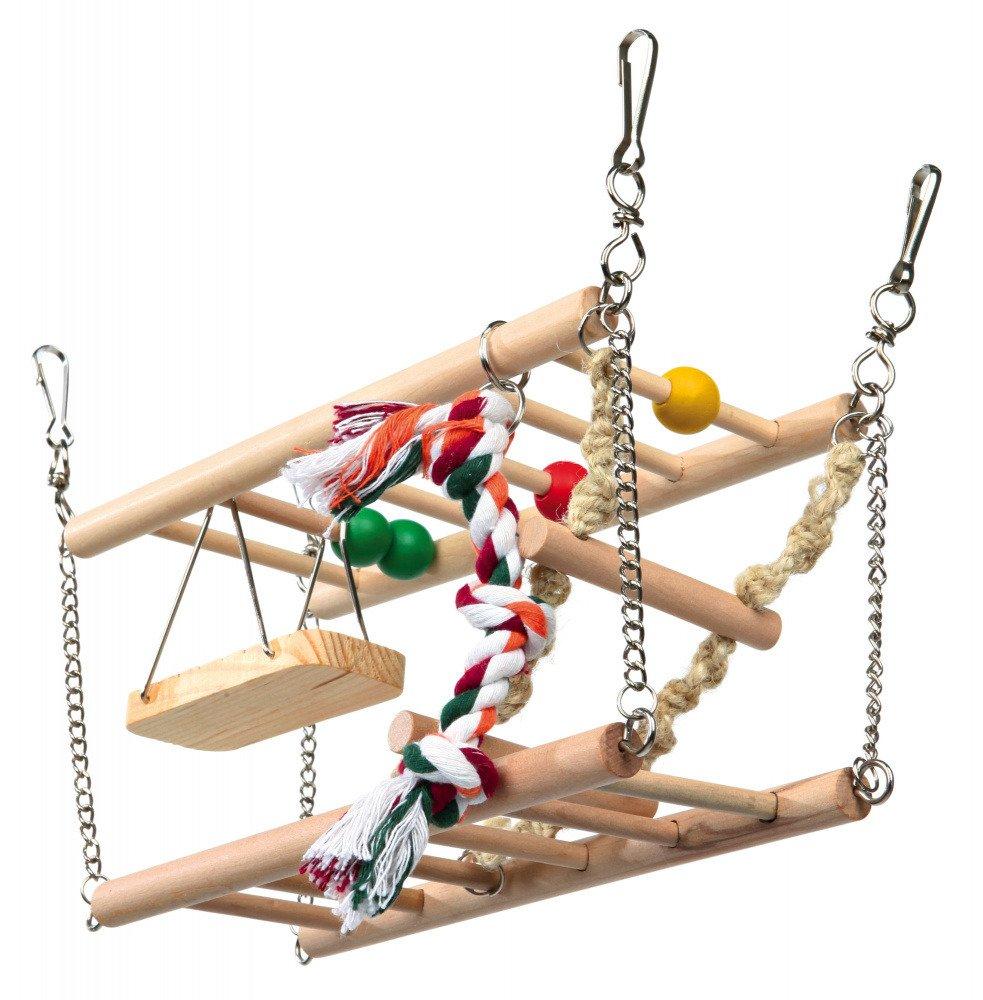 Modernistyczne Trixie MOST plac zabaw dla CHOMIKA 27x16x10cm | GRYZONIE \ Zabawki YZ23